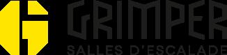 logo Grimper salles d'escalade partenaire Greenspits 2017 la fête du spit #2