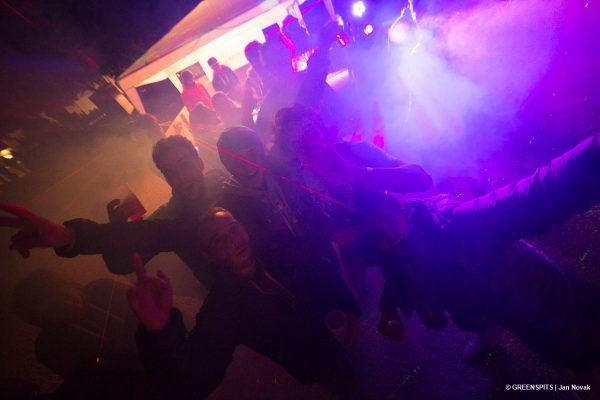 le dancefloor enflammé de la fête du spit #2 2017