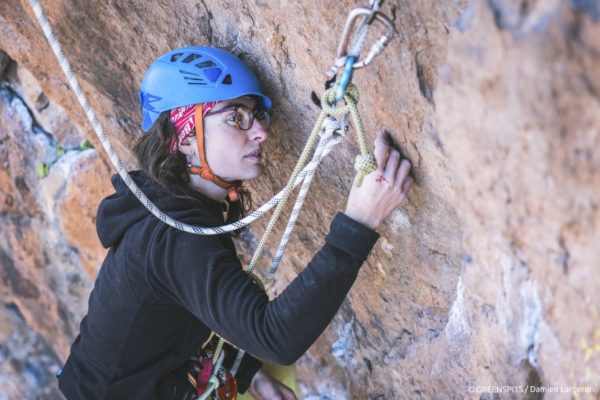 projet rééquipement Greenspits agir avec la passion du rocher